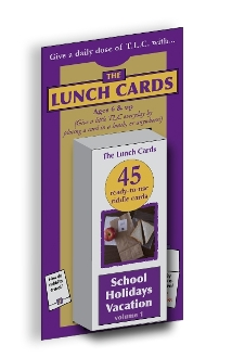 The Lunch Cards: School/Vacation/Holidays